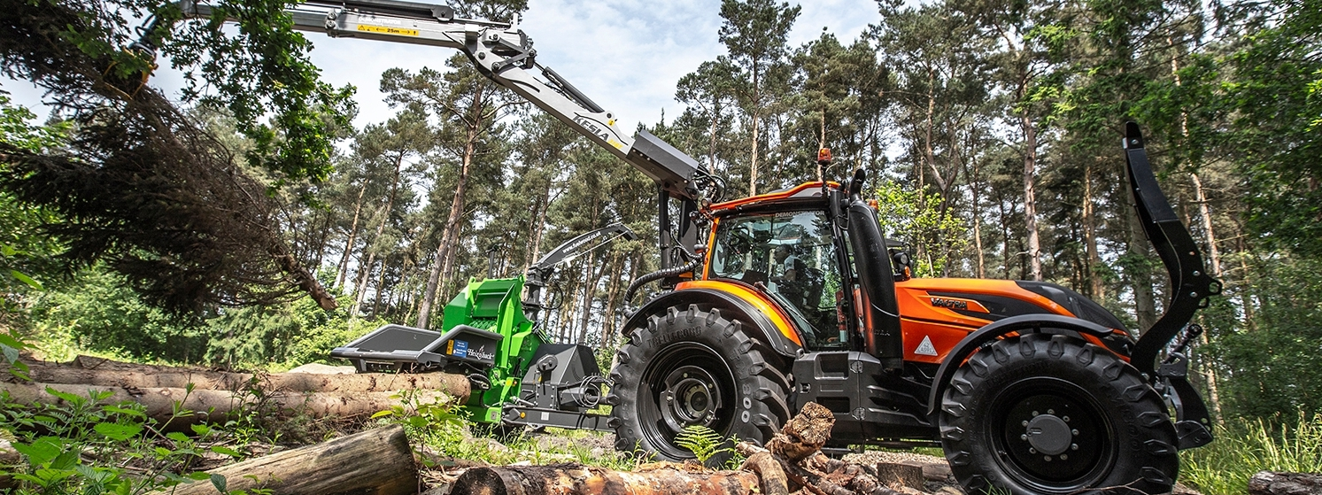 valtra n4 series forestry